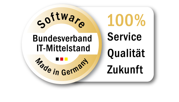 Smartstore receives the seal of approval of the Bundesverband IT-Mittelstand