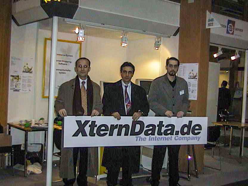 1999, our first CeBIT